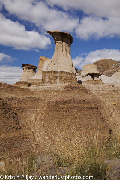 Hoodoos in the Alberta badlands