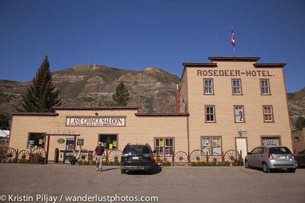 Rosedeer Hotel, Wayne, AB