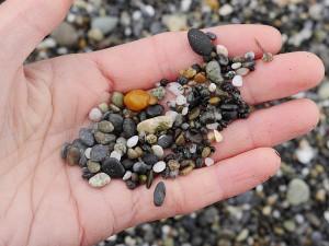 """Agate beach """"sand."""""""